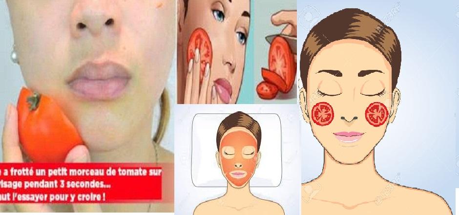 recette tomate visage