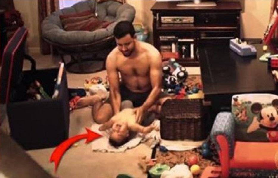 Avez-Vous Jamais Demandé Ce Qui Se Passe Quand Vous Laissez Votre Enfant A La Maison Avec Votre Mari Voir La Vidéo