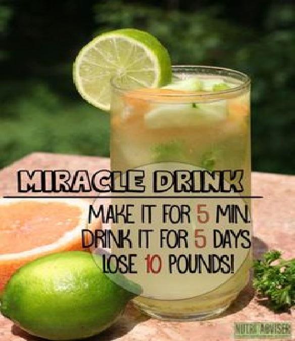boisson pour perdre graisse en 5 jours