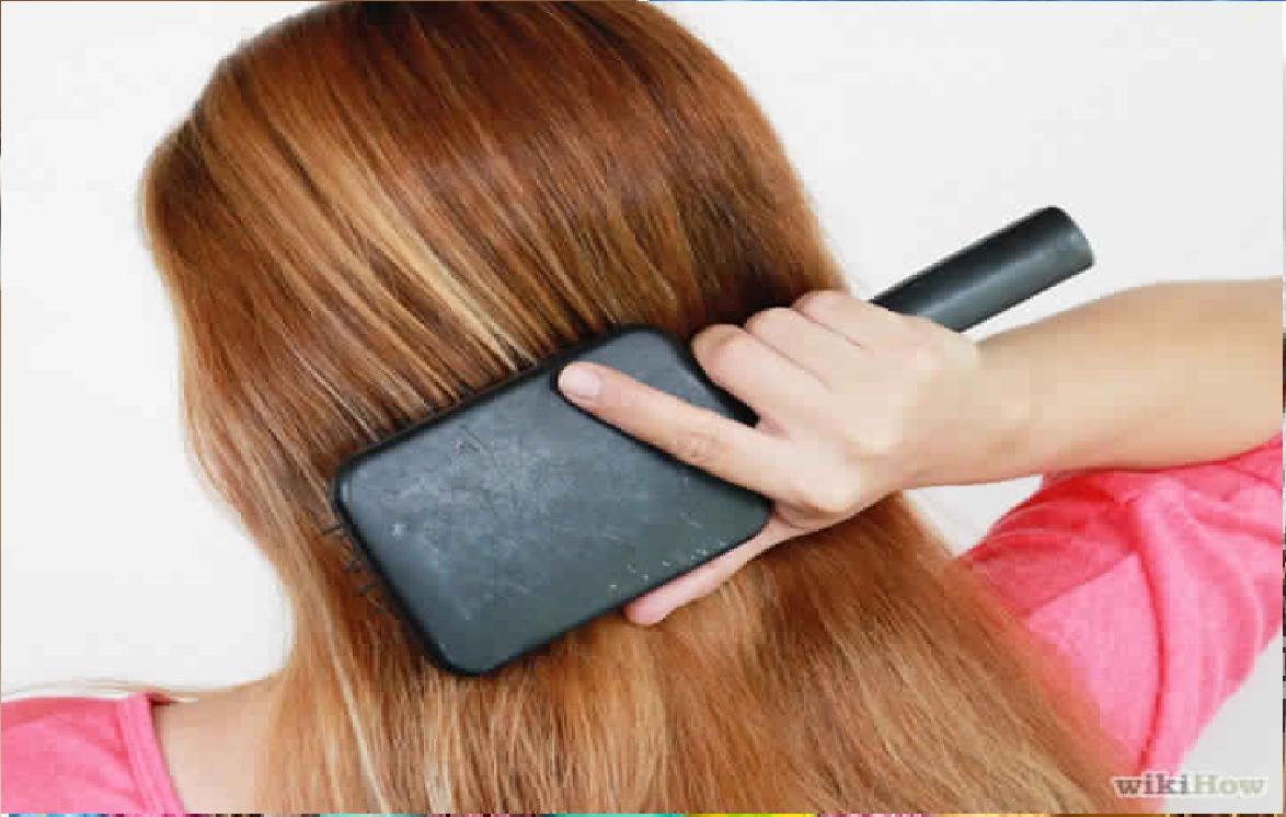 Peignez vos cheveux avant de vous coucher
